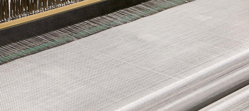 uruchomienie produkcji tkanin rowingowych